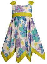 Bonnie Jean 7-16 Handkerchief-Hem Dress