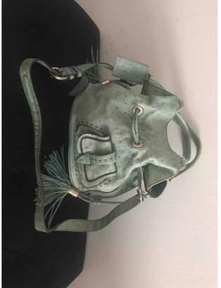 Lancel 1er Flirt Green Leather Handbags