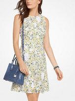 Michael Kors Floral Eyelet Cotton Shift Dress