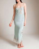Carine Gilson Florence V-Neck Long Gown
