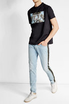 Palm Angels Trimmed Skinny Jeans