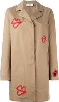 Ports 1961 lip coat - women - Cotton/Polyurethane - 40