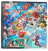 Christian Lacroix Love Letters Silk Scarf