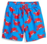 Little Me Infant Boy's Crab Print Swim Trunks