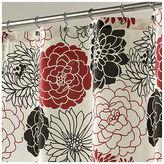 Asstd National Brand Full Bloom Shower Curtain