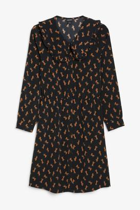 Monki Frill collar dress