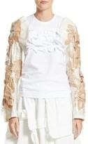 Comme des Garcons Women's Pvc & Paper Bolero Jacket