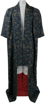 A.N.G.E.L.O. Vintage Cult 1990s Floral Pattern Kimono Coat