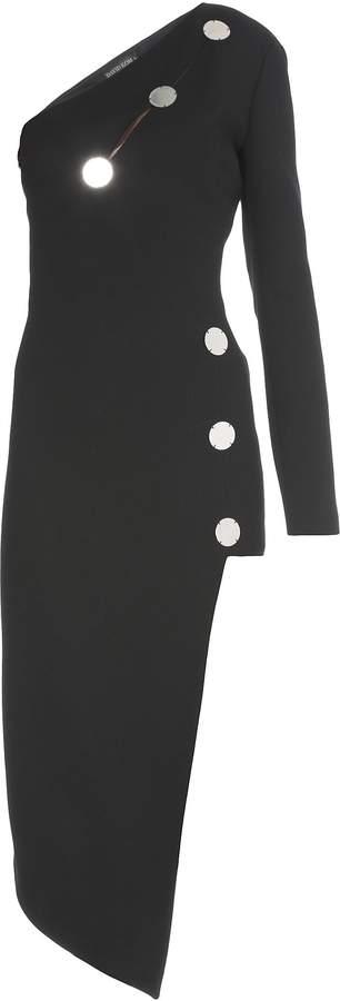 David Koma One Shoulder Dress