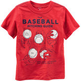 Carter's Baseball Graphic Tee