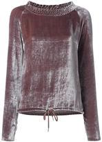 See by Chloe 'Tassel Tie' Top - women - Silk/Cotton/Viscose - 36