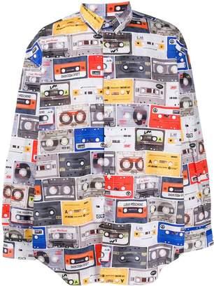 Love Moschino tape-print shirt