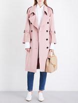 Burberry Lakestone cashmere trench coat