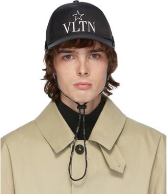 Valentino Black Garavani VLTN Star Cap