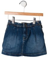 Burberry Girls' Elasticized Denim Skirt