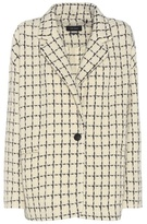 Isabel Marant Mark Wool-blend Printed Knitted Blazer