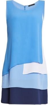 BCBGMAXAZRIA Paneled Tank Dress