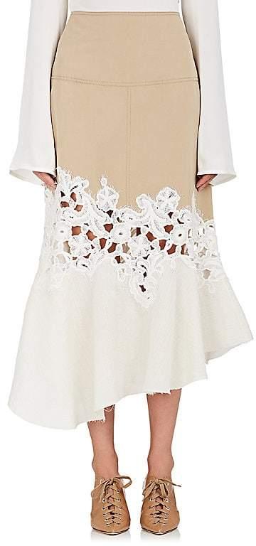 Derek Lam Women's Cotton Flared Skirt