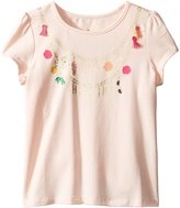 Kate Spade Kids Baby Girl's How Charming Tee (Toddler/Little Kids) T-Shirt