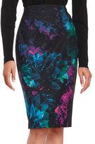 Ellen Tracy High-Waist Pencil Skirt