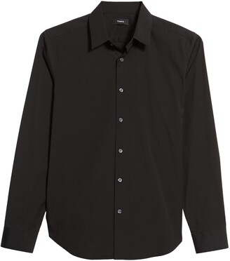 Theory Sylvain Slim Fit Button-Up Dress Shirt