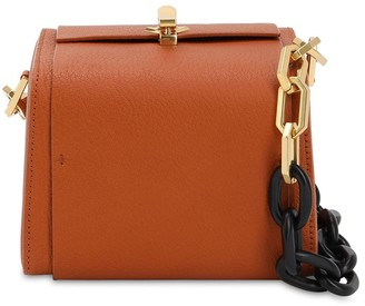 THE VOLON Po Cube Leather Bag