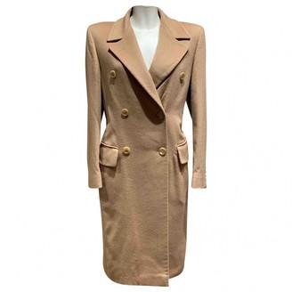 Non Signé / Unsigned Non Signe / Unsigned Oversize Camel Cashmere Coats