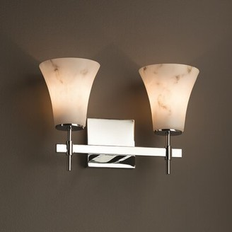 Brayden Studio Keyon 2-Light Vanity Light Finish: Polished Chrome