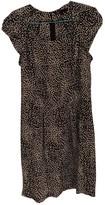 Maje Black Silk Dresses