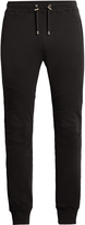 Balmain Biker cotton track pants