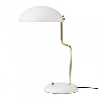 Superliving - Whisper White Twist Table Lamp - metal   white - White/White