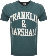 Franklin & Marshall Franklin Marshall Logo T Shirt Green
