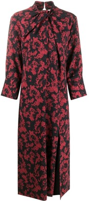 16Arlington Fujiko twist-neck midi dress