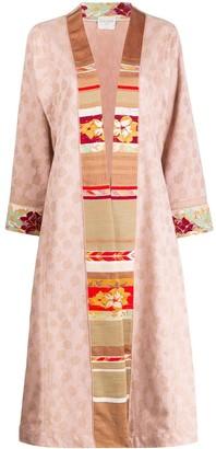 Forte Forte long embroidered kimono
