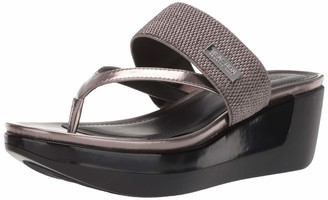 Kenneth Cole Reaction Women Platform Slip on Wedge Sandal