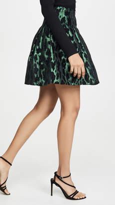 BB Dakota Emerald Green Miniskirt