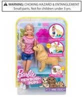 Barbie Newborn Pups Doll & Pets, Little Girls (2-6X) & Big Girls (7-16)