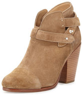 Rag & Bone Harrow Suede Ankle Boot, Tan