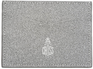 Mark Cross Silver Stamp Card Holder