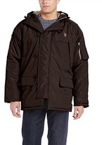 U.S. Polo Assn. Men's Long Snorkel Jacket with Hood