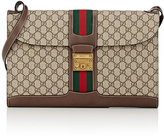 Gucci Men's GG Supreme-Print Portfolio Messenger Bag