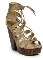 G by Guess GByGUESS Women's Shelton Lace-Up Wedges