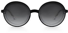 Krewe Women's Louisa Round Sunglasses, 63mm