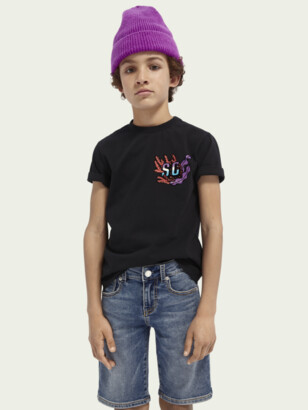 Scotch & Soda Graphic organic cotton T-shirt | Boys