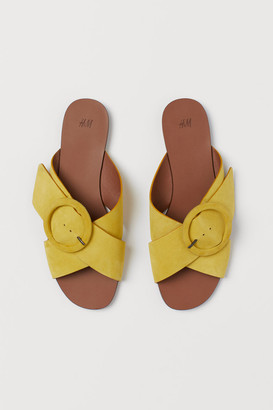 H&M Slides - Yellow