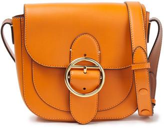 Joseph Buckle-detailed Leather Shoulder Bag