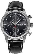 Alpina Men's 42mm Calfskin Band Steel Case Automatic Watch AL-750B4E6
