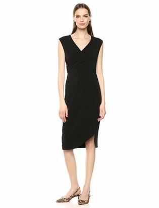 Karen Kane Women's Sophia Drape Dress