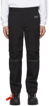 Off-White Off White Black Zip Off Cargo Pants