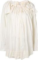 Maison Rabih Kayrouz bow shoulder detail blouse